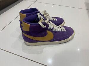 Nike Blazer Size UK 7 / EU 41 Purple