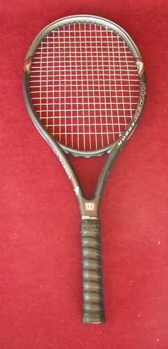 Wilson Hyper Hammer 2.3 OverTalla 110 Encordada Raqueta De Tenis Raqueta 4-3 8  Buen
