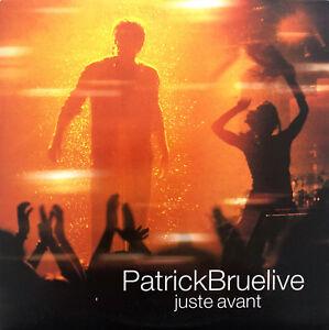 Patrick-Bruel-CD-Single-Juste-Avant-Promo-VG-EX