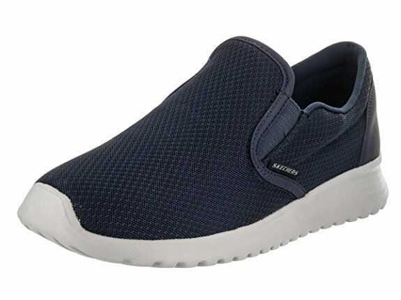Men's Skechers Zimsey Sneaker Sporty flat Slip on 52730 /NVY Navy Brand New Seasonal clearance sale