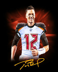 TOM-BRADY-Facsimile-Signed-8x10-Photo-Autographed-Tampa-Bay-Buccaneers-BUCS-NFL