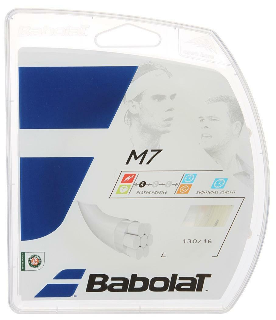 Corde Tennis BABOLAT M7 1.30 n.4 matassine 12m multifilamento
