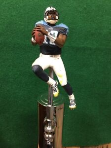 2ad27847 TENNESSEE TITANS Tap Handle NFL FOOTBALL Vince Young Beer Keg Blue ...