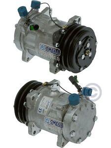 RYC Reman AC Compressor EG700 Replaces Sanden 4627 4779 4896
