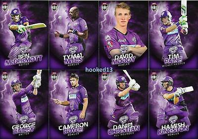 2017 Paine Knight BBL Big Bash DUOS SUBSET Card Hobart Hurricanes #TD-03