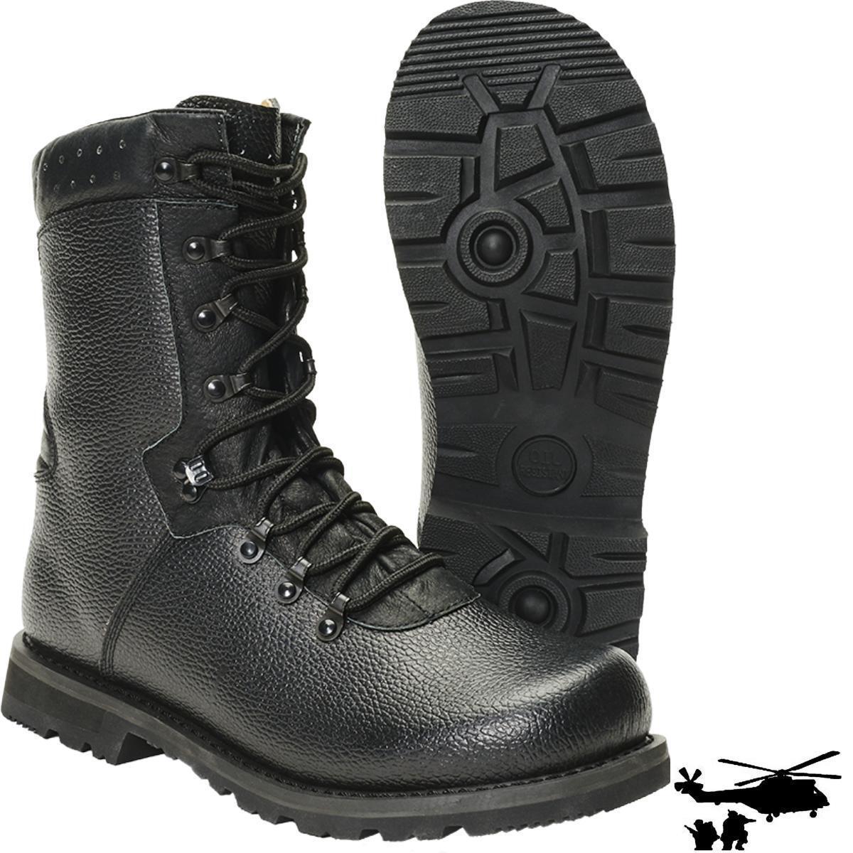 Brandit BW Kampfstiefel MODELL  2000 Armee Stiefel Echtleder Boots Schuhe NEU
