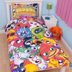 Image Is Loading Moshi Monsters Single Duvet Set Children Kids Bedroom