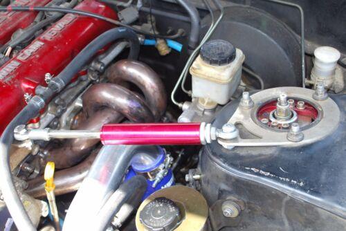 """red 13/"""" Engine Torque Damper Shock Kit fits 95-98 240SX S14 SR20 SR20DET"""