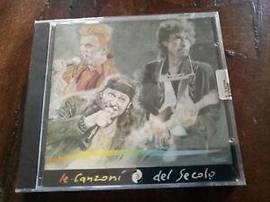Le-Canzoni-Del-Secolo-David-Bowie-Vasco-Rossi-Bob-Dylan-Serigrafato-Cd-Sigillato