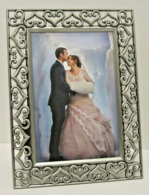 Binnenhuisinrichting Tabletop 8x10 Antique Pewter Finish With Crystals Wedding Picture Frame Wall Huis Zikshaa Com