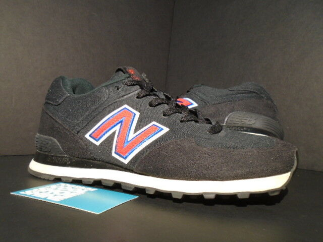 2010 NEW BALANCE MS574UF 574 UNDEFEATED UNDFTD SONIC FLEECE BLACK RED BLUE 8