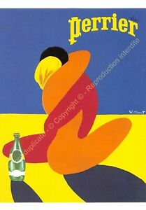 CP Postcard Poster Advertising Perrier Edit Clouet 10502