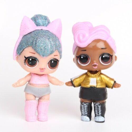 2020 New 8 Pcs Set LOL Surprise Ball Lil Sisters LOL Dolls Pets Girls Model Toys