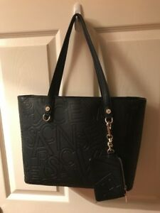 1cdd6b265c35 Image is loading Ladies-Black-Versace-Bag-Medium-Brand-New-with-