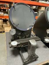 Microvu Model 400 10 Portable Bench Optical Comparator Inspection Withbrochures