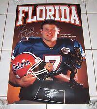 Florida Gators Danny Wuerffel Heisman Trophy Winner Poster Rare