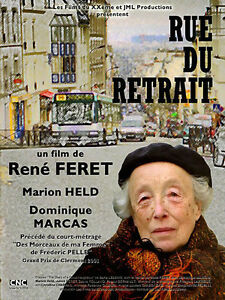 Affiche-120x160cm-RUE-DU-RETRAIT-2001-Rene-Feret-Marion-Held-Marcas-TBE