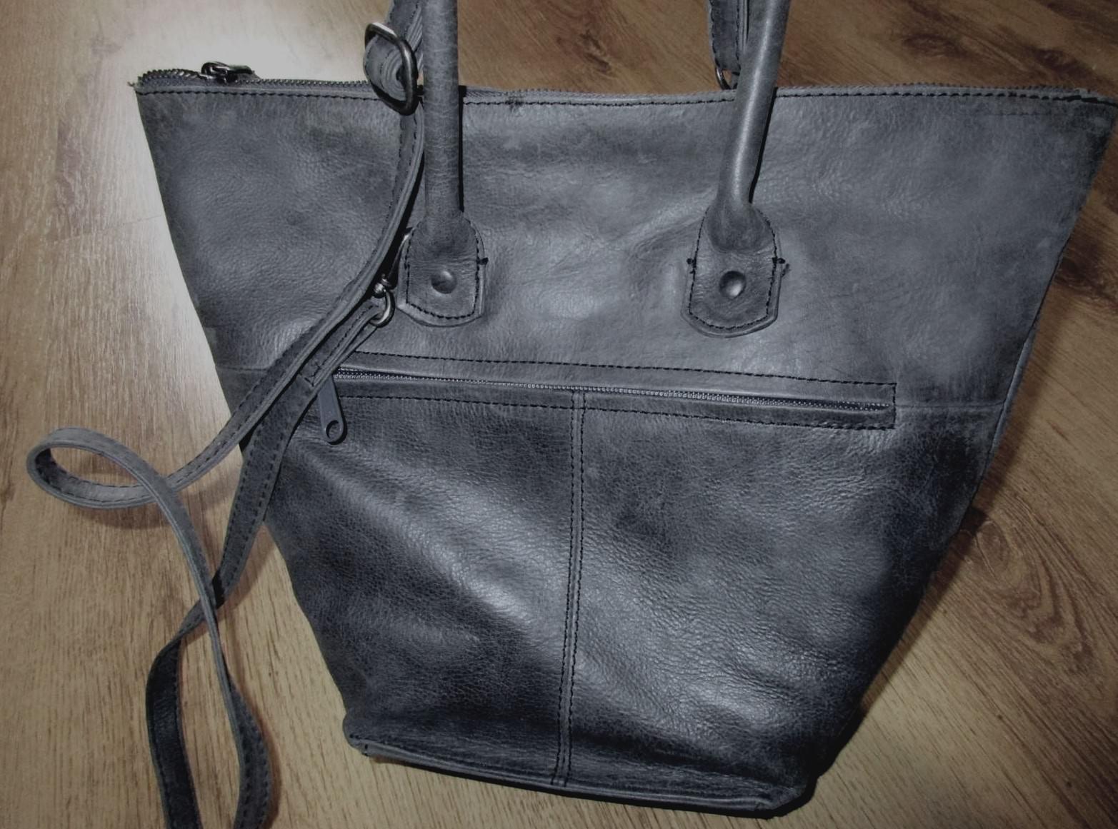 VOI Handtasche LEDER Hochwertig SCHULTERTASCHE Tragetasche LEDERTASCHE Shopper     Online einkaufen