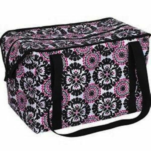 Thirty One Fresh Market Thermal Tote Picnic Party Bag 31 Gift Pink Pop Medallion Ebay