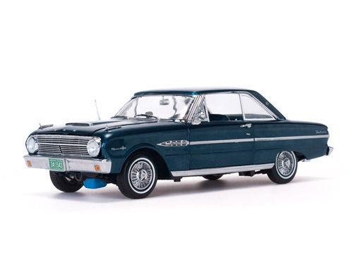 Sunstar 1 18  AMERICAN COLLECTIBLES 1963 FORD FALCON HARD TOP DIECAST voiture SS4543  au prix le plus bas