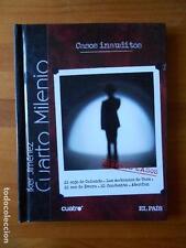 DVD + LIBRO CASOS INAUDITOS - CUARTO MILENIO Nº 23 - IKER JIMENEZ (Q4)