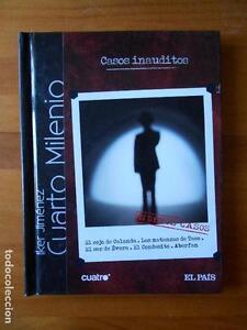 DVD + LIBRO CASOS INAUDITOS - CUARTO MILENIO Nº 23 - IKER JIMENEZ ...