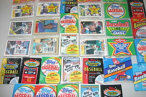 LOT-OF-500-OLD-UNOPENED-BASEBALL-CARDS-IN-PACKS-ONLY-TOPPS-CARDS