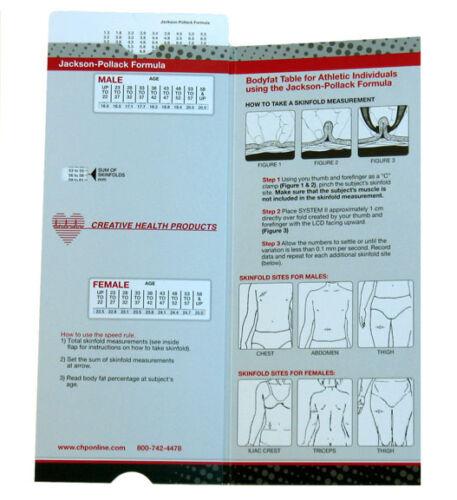 Slim Guide Skinfold Caliper with Speed Rule C-120BSR black