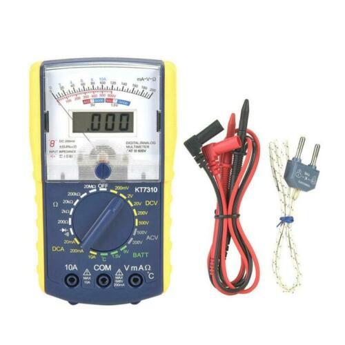 Handheld Multimeter Doppel Dual Anzeige Analog Tester Detektor Werkzeug