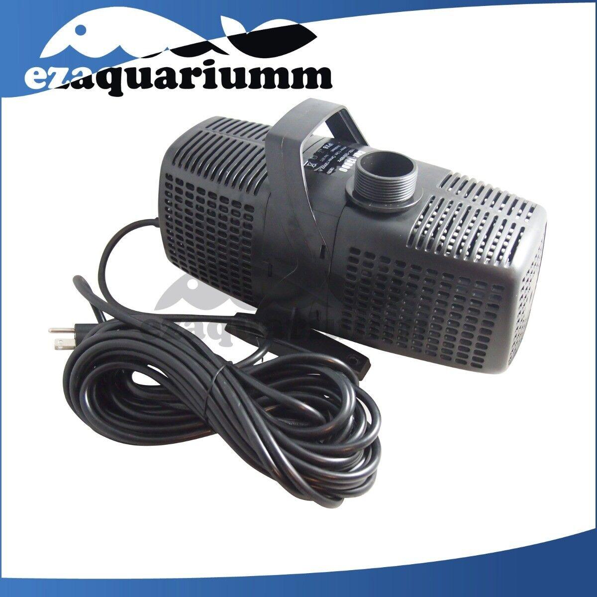 2378-4755GPH Submersible Pond Pump Aquarium Tank Inline Fountain Waterfall Koi