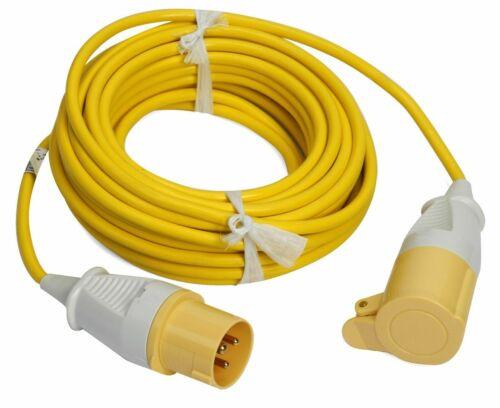 Faithfull FPPTL 14 ml 110 V Extension Lead 14 m avec plug and socket