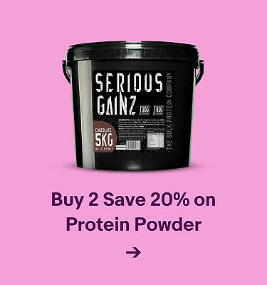 Buy 2 Save 20% on Protein Powder