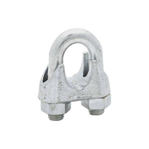 """National N248-344 3//4/"""" Cable Clamp Zinc 5 Pack"""
