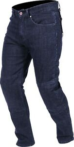 Weise-Boston-Jeans-Men-039-s-Blue-Denim-Armoured-Motorcycle-Jeans-NEW