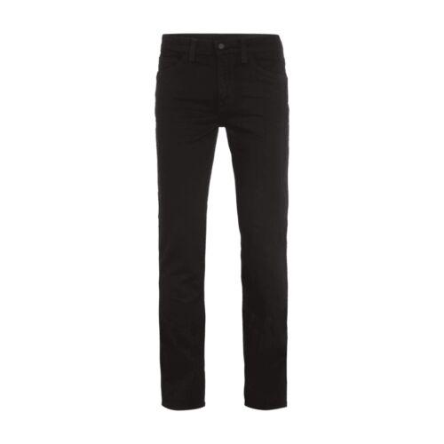 Levi's Line 8 Coloured Slim Fit Jeans Herren Hose Schwarz mit Stretch-Anteil NEU