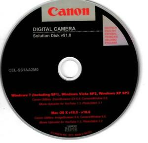 Details about Canon Digital Camera Solution Disk v91 0 ZoomBrowser  CameraWindow PhotoStitch