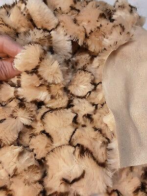 Fat 1//4 yard DOE Sassy Bears Poly Plush Fur for Bears /& Crafts