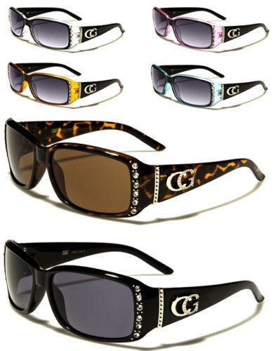 New Womens Ladies Girls Designer CG Rhinestone Diamante Sunglasses