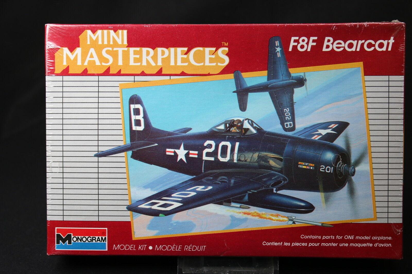 YE062 MONOGRAM 1 72 maquette  avion 5013 F8F Bearcat Mini Masterpieces  bas prix