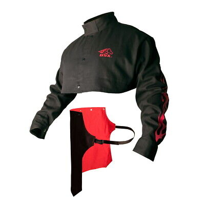 BX21CS XLarge Revco Black Stallion BSX Advanced FR Cotton Cape Sleeves w//Bib