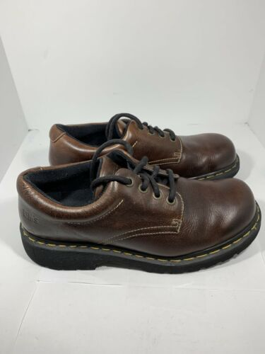 DR MARTENS Doc Martins Casual Brown Ankle Boots Ox