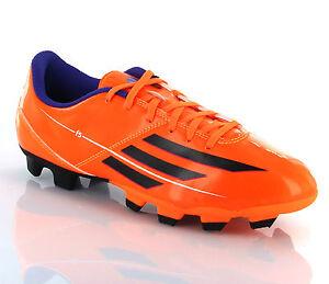 Image is loading Adidas-F5-TRX-FG-Orange-Performance-Mens-Football-