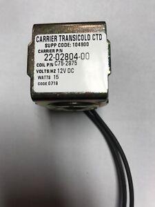 carrier transicold 22-02804-00 coil unloader 12v w con