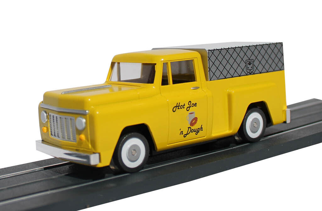 WILLIAMS BY BACHuomoN 42734 O SCALE EZ STREETS MOTORIZED FOOD TRUCK nuovo IN scatola