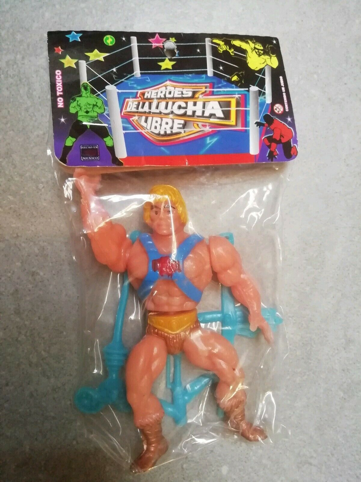 Masters of the Universe - HE MAN  -  MOTU - avvioLEG made in mexico