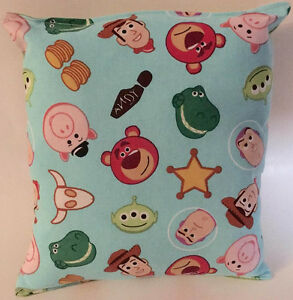 Toy-Story-Pillow-Tossed-Buzz-Woody-Pillow-Disney-Pillow-HANDMADE-in-USA