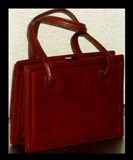 GOLDPFEIL Handtasche LEDER Ledertasche FIRST CLASS Elegant und edel NEUWERTIG 1A