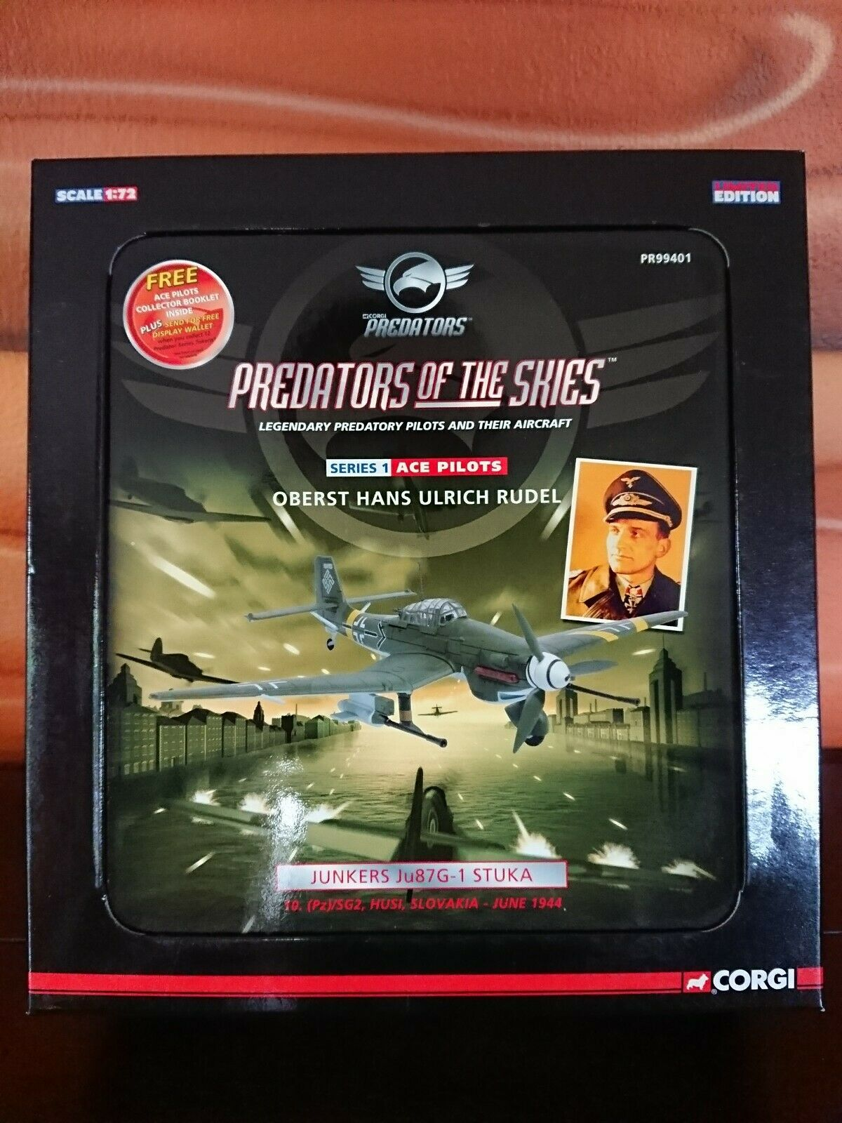 Corgi 1 72 Protators of the Skies STUKA's Serie 1-3