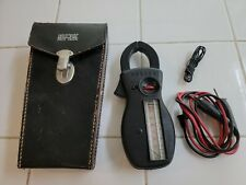 Vtg Amprobe Ultra Rs 3 Rotary Clamp Test Meter Amp Meter With Leads And Case