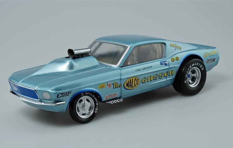 1:18 Gmp Sample 1967 Ohio George Malco Gasser Mustang